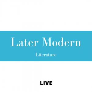 Protected: Later Modern Literature