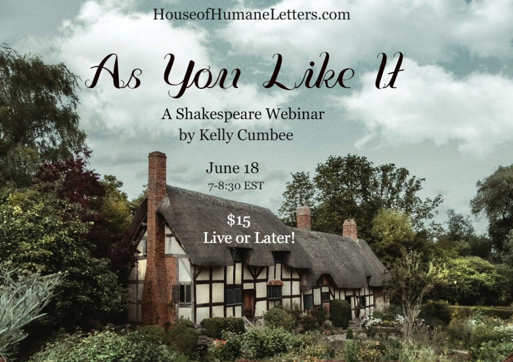 AS You Like it webinar