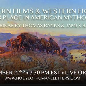 Western Films and Western Fiction (a webinar)